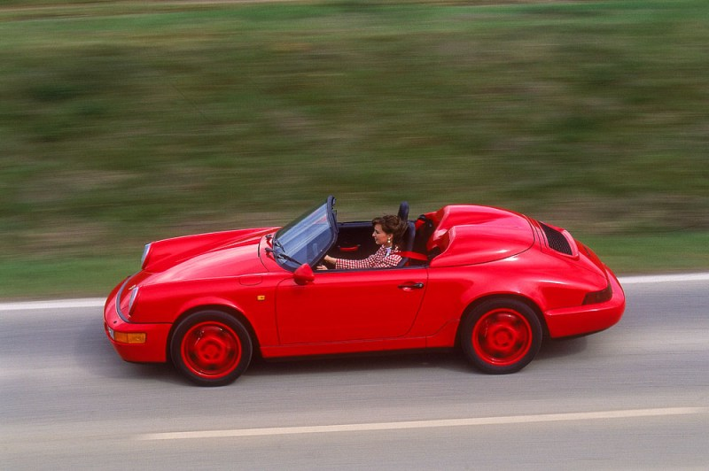 Porsche 911 Carrera 2 3,6 Speedster, model year 1993