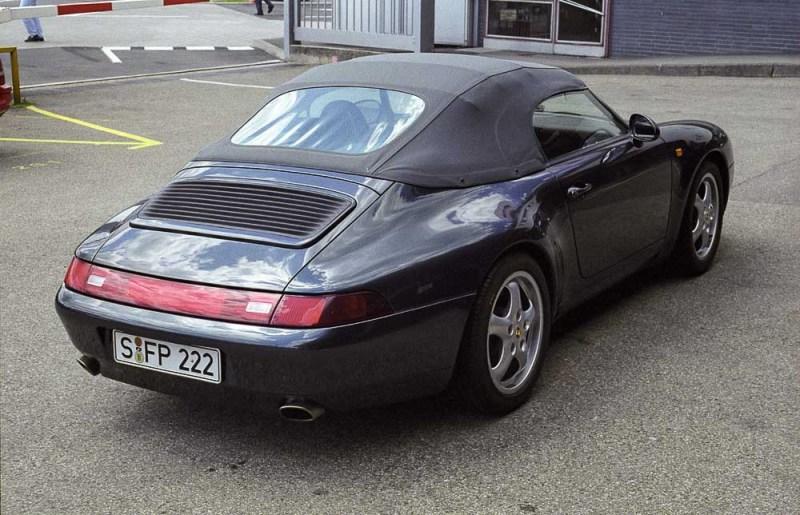 Porsche 911 Carrera 3,6 Speedster of F.A. Porsche,1995