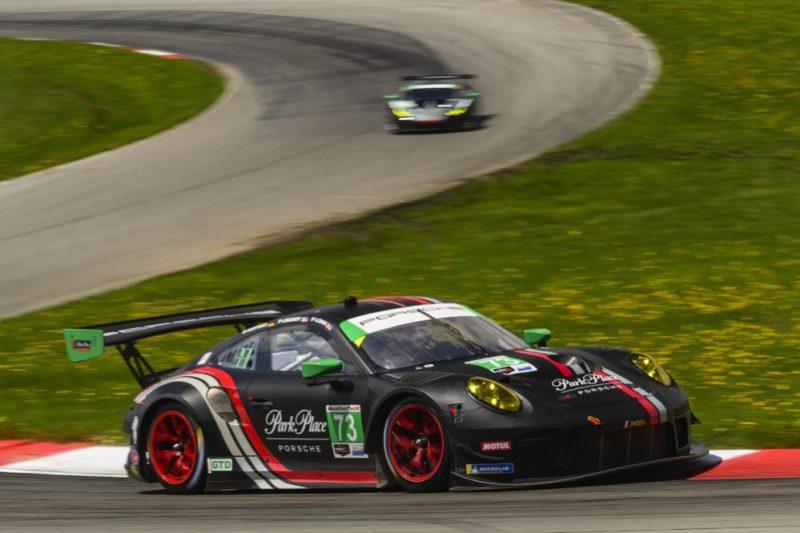Porsche 911 GT3 R (73), Park Place Motorsports- Patrick Long, Marco Seefried