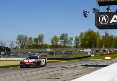 Porsche extends series lead with win and podium place in the IMSA Lexington race.