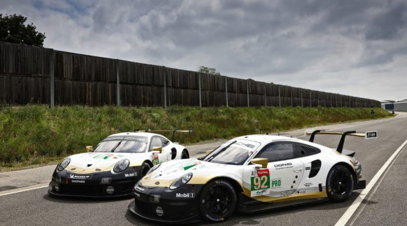 Porsche 911 RSR, Porsche GT Team (91), Gianmaria Bruni (I), Richard Lietz (A), Frédéric Makowiecki (F), Porsche GT Team (92), Michael Christensen (DK), Kévin Estre (F), Laurens Vanthoor (B)