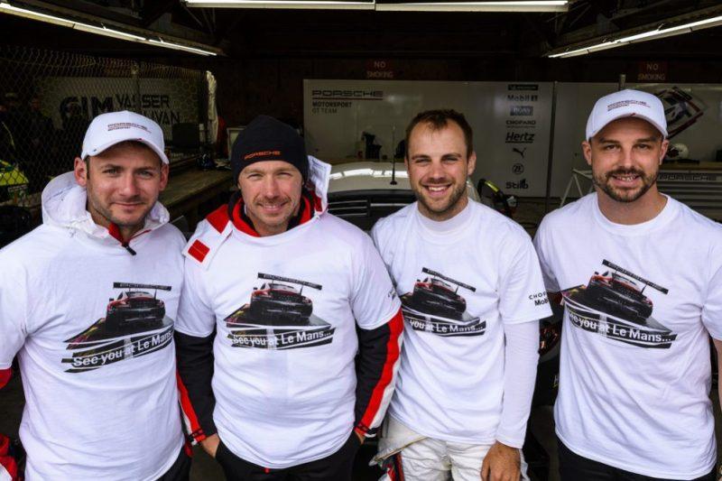 Porsche GT Team: Nick Tandy, Patrick Pilet, Laurens Vanthoor, Earl Bamber