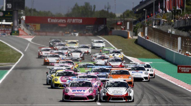 Start, Porsche 911 GT3 Cup, Julien Andlauer (F), Ayhancan Güven (TR), Porsche Mobil 1 Supercup, Barcelona 2019