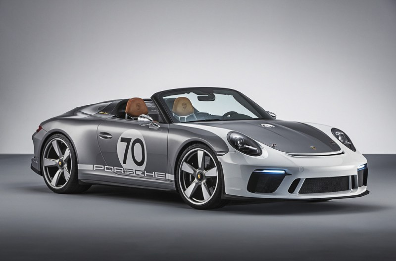 The 911 Speedster Concept of 2018 goes now into production.