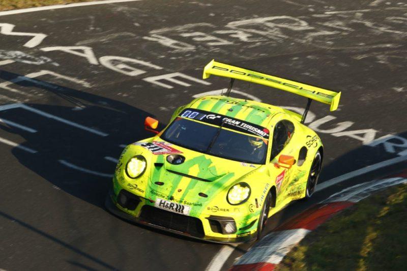 Porsche 911 GT3 R, Manthey-Racing (911), Earl Bamber (NZ), Michael Christensen (DK), Kevin Estre (F), Laurens Vanthoor (B)