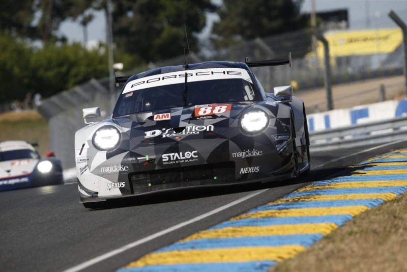 Porsche 911 RSR, Dempsey Proton Racing (88), Matteo Cairoli (I), Giorgio Roda (I), Satoshi Hoshino (JAP)