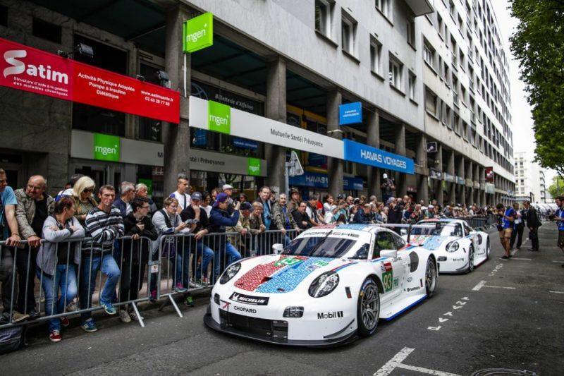 Porsche 911 RSR, Porsche GT Team (93), Patrick Pilet (F), Nick Tandy (GB), Earl Bamber (NZ), Porsche GT Team (94), Sven Müller (D), Mathieu Jaminet (F), Dennis Olsen (N)