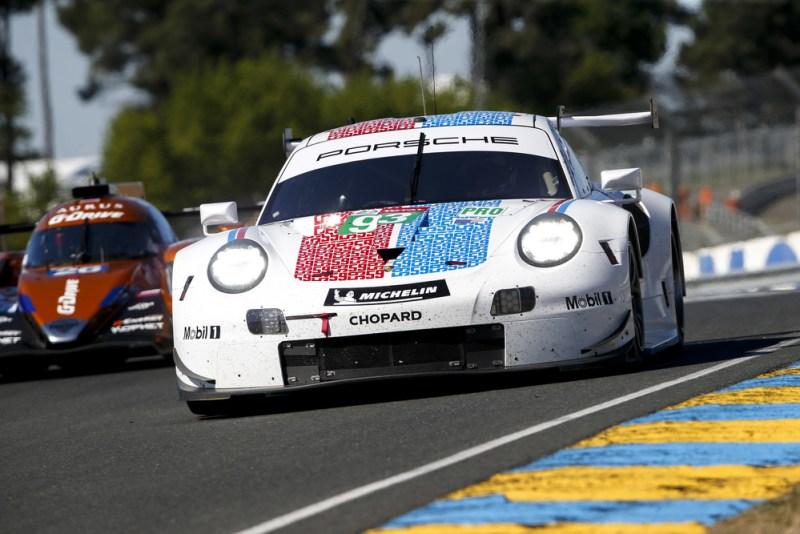 Porsche 911 RSR, Porsche GT Team (93), Patrick Pilet (F), Nick Tandy (GB), Earl Bamber (NZ)