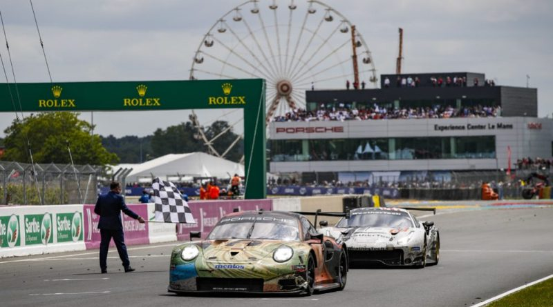 Keating Motorsports Ford GT disqualified. Porsche customer team Project 1 declared class winners at Le Mans 24 Hours