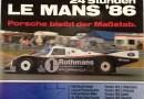 Le Mans 24Hours Porsche victory Poster