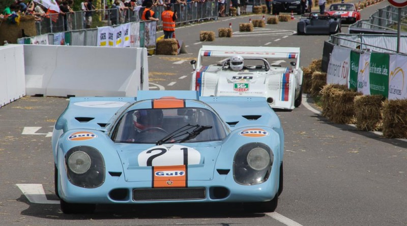 Porsche 917 Renntaxi at the Solitude Revival
