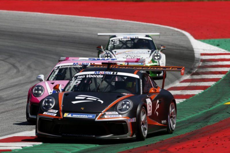 Porsche 911 GT3 Cup, Larry ten Voorde (NL), Porsche Mobil 1 Supercup, Spielberg 2019