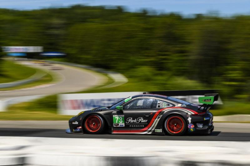 Porsche 911 GT3 R (73), Park Place Motorsports- Patrick Long (USA), Patrick Lindsey (USA)