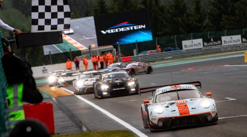 Porsche wins the Spa 24H 2019