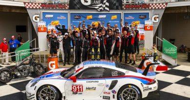 Porsche GT Team wins at Watkins Glen
