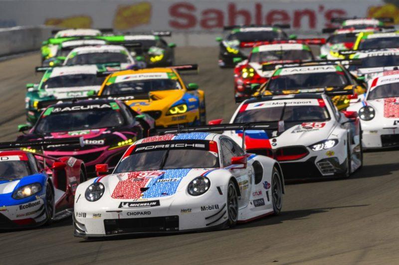 Porsche 911 RSR (912), Porsche GT Team - Earl Bamber, Laurens Vanthoor
