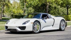 2015 Porsche 918 Spyder Weissach - Mecum