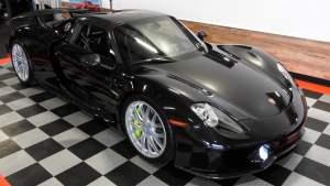 Black 2015 Porsche 918 Spyder - Mecum
