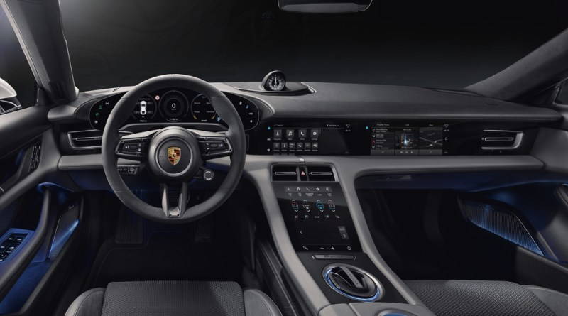 Digital, clear, sustainable- the interior of the new Porsche Taycan