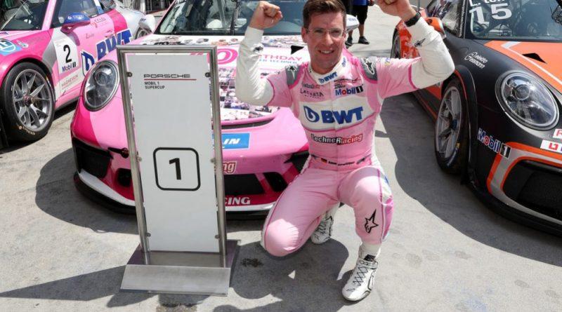 Michael Ammermüller (D), BWT Lechner Racing, Porsche Mobil 1 Supercup, Budapest 2019