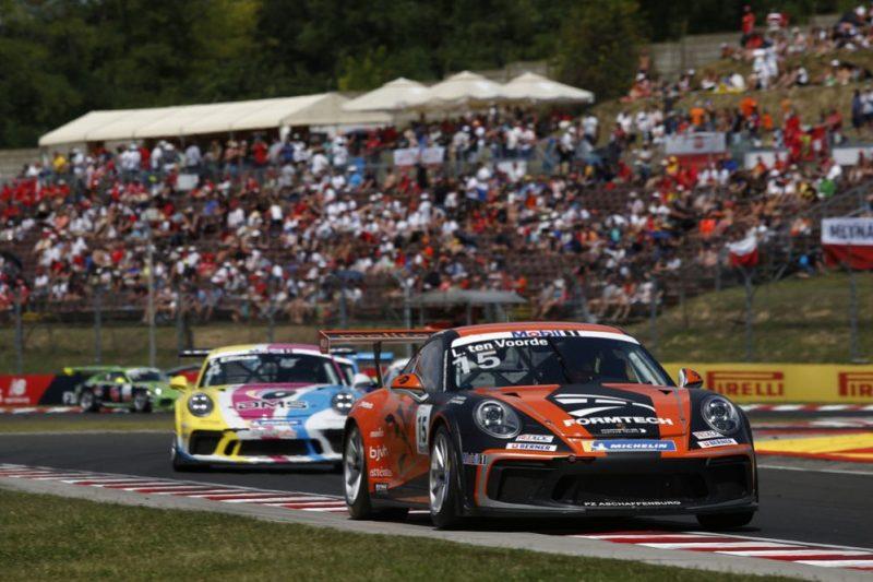 Porsche 911 GT3 Cup, Larry ten Voorde (NL), Porsche Mobil 1 Supercup, Budapest 2019