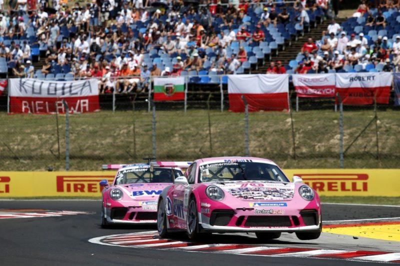 Porsche 911 GT3 Cup, Michael Ammermüller (D), Porsche Mobil 1 Supercup, Budapest 2019