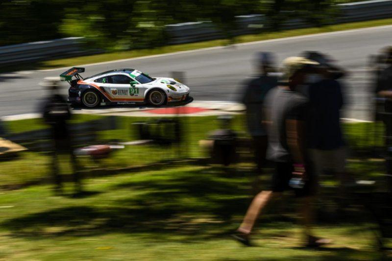 Porsche 911 GT3 R, Wright Motorsports (91), Dennis Olsen (N), Anthony Imperato (USA)