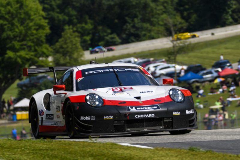 Porsche 911 RSR (912), Porsche GT Team- Earl Bamber (NZ), Laurens Vanthoor (B)