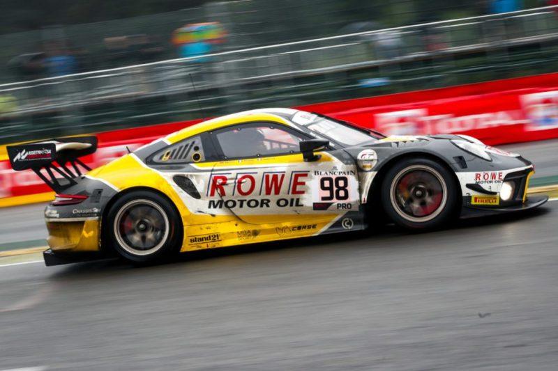 Porsche 911 GT3 R, ROWE Racing (98), Earl Bamber (NZ)