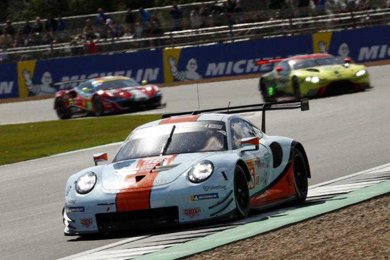 Porsche 911 RSR, Gulf Racing (86), Michael Wainwright (GB), Ben Barker (GB), Andrew Watson (GB)