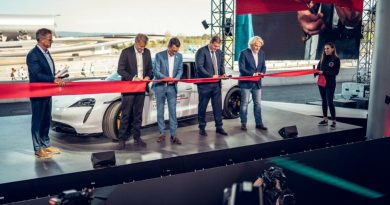 Opening of the 7th Porsche Experience Center in the world