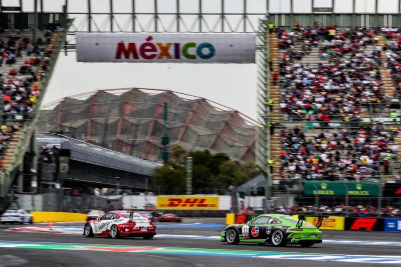 Porsche 911 GT3 Cup, Gianmarco Quaresmini (I), Porsche Mobil 1 Supercup, Mexico 2019
