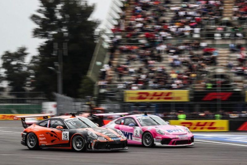 Porsche 911 GT3 Cup, Larry ten Voorde (NL), Julien Andlauer (F), Porsche Mobil 1 Supercup, Mexico 2019
