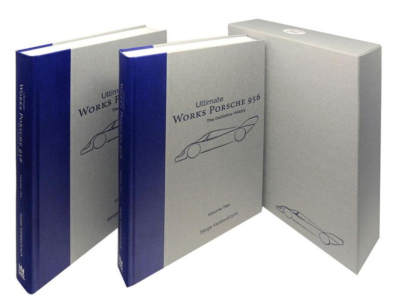 Works Porsche 956 - The definitive history by Serge Vanbockryck