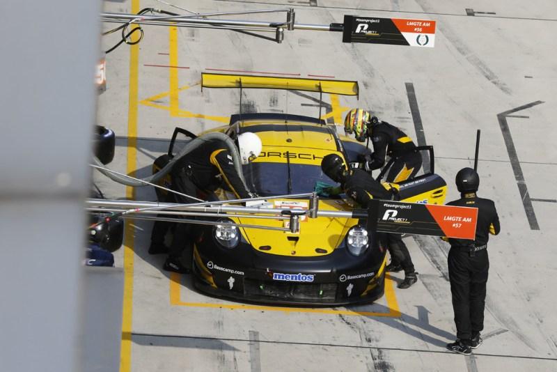 Porsche 911 RSR, Team Project 1 (56), Egidio Perfetti (N), David Heinemeier Hansson (DK), Matteo Cairoli (I)