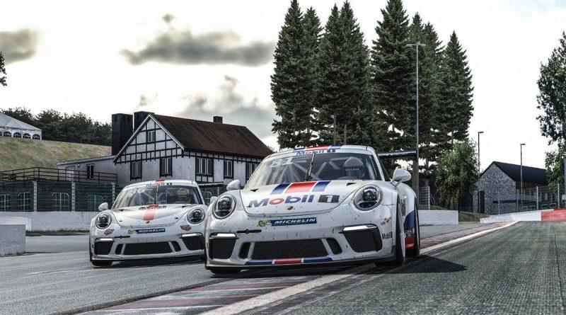 Porsche Mobil 1 Supercup Virtual Edition Spa Francorchamps