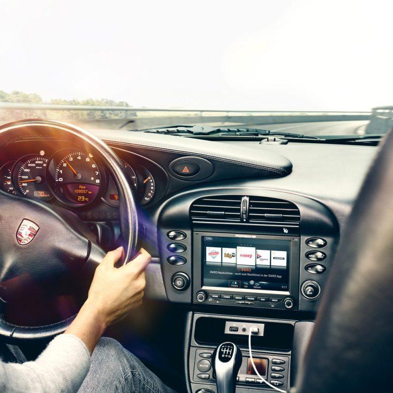 Porsche Classic Communication Management Plus at Porsche 996