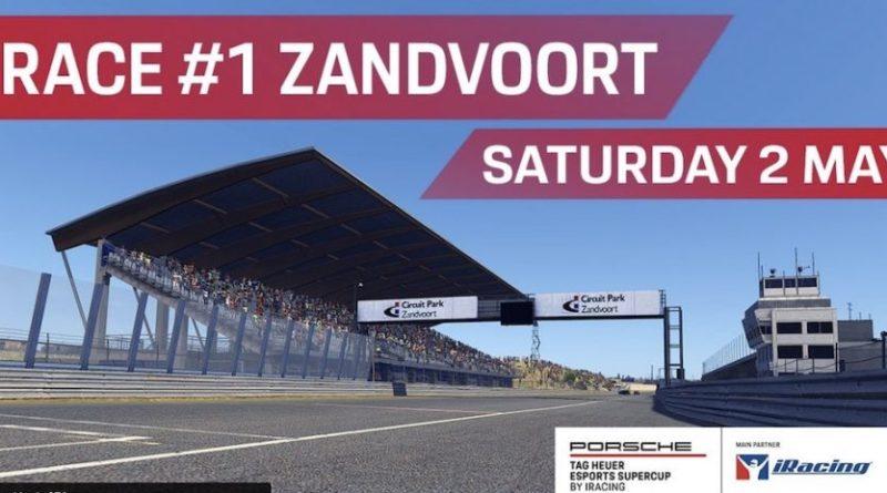 Porsche Esports Virtual Supercup Zandvoort 2020