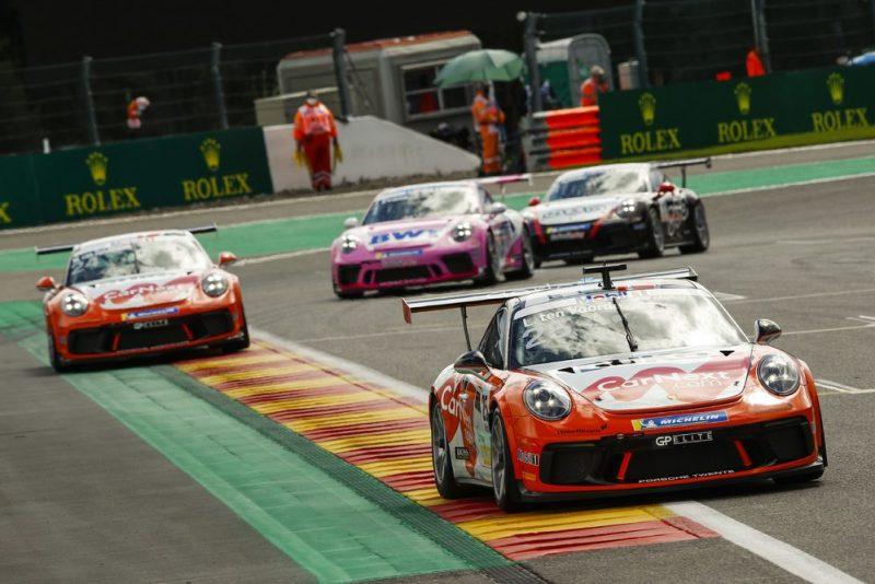 Porsche 911 GT3 Cup, Larry ten Voorde (NL), Porsche Mobil 1 Supercup, Spa-Francorchamps 2020