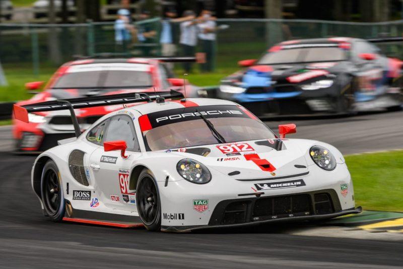 Porsche 911 RSR, Porsche GT Team (#912), Earl Bamber (NZ), Laurens Vanthoor(B)