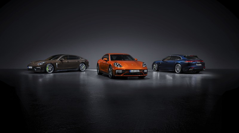 The new Porsche Panamera Models presented August 26 2020