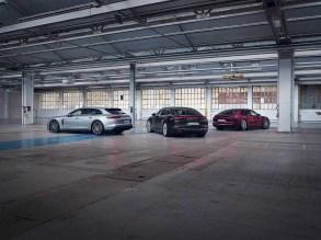 The new Porsche Panamera hybrid models