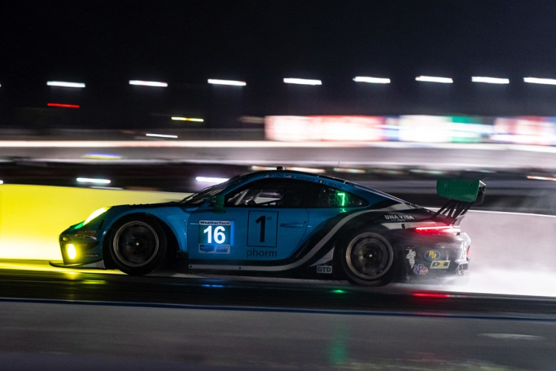 Porsche 911 GT3 R, Wright Motorsports (#16), Patrick Long (USA), Ryan Hardwick (USA)