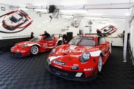 Road Atlanta 2019: The Porsche 911 RSR in Coca-Cola design