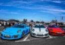 Porsches rule the streets during the 2020 Paradis Porsche in Saint-Tropez