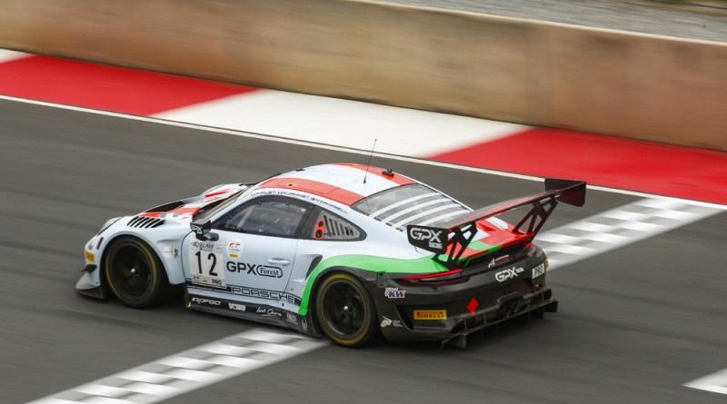 Porsche 911 GT3 R, GPX Racing (#12), Matt Campbell (AUS), Mathieu Jaminet (F), Patrick Pilet (F)