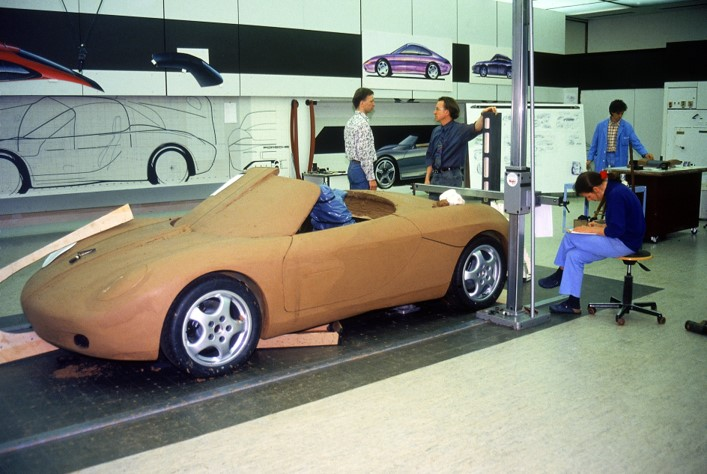 Building the Porsche Boxster Concept Car
