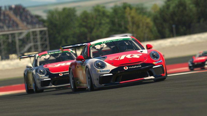Porsche 911 GT3 Cup, Charlie Collins (GB), #93, Porsche TAG Heuer Esports Supercup, 2021