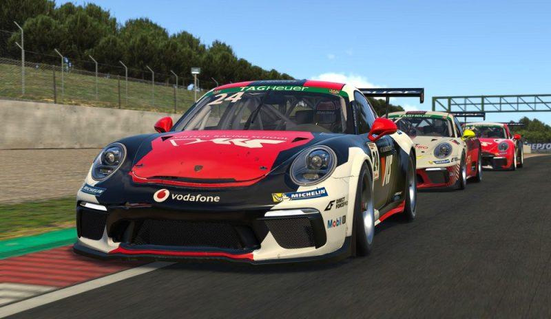 Porsche 911 GT3 Cup, Mitchell deJong (USA), #24, Porsche TAG Heuer Esports Supercup, 2021
