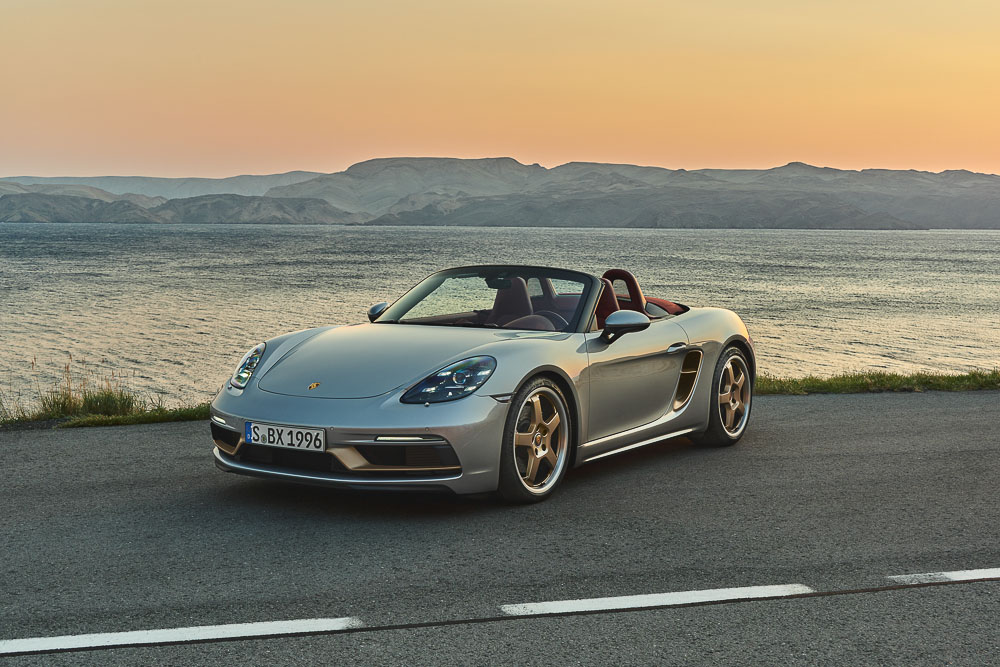 photo of The Boxster 25 years, a limited edition anniversary model to celebrate 25 years of production image